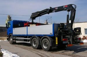 Transport bloczków betonowych